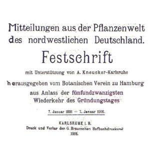 Festschrift 1916