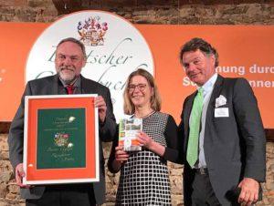 Preisverleihung Deutscher Gartenbuchpreis für Botanischen Wanderführer